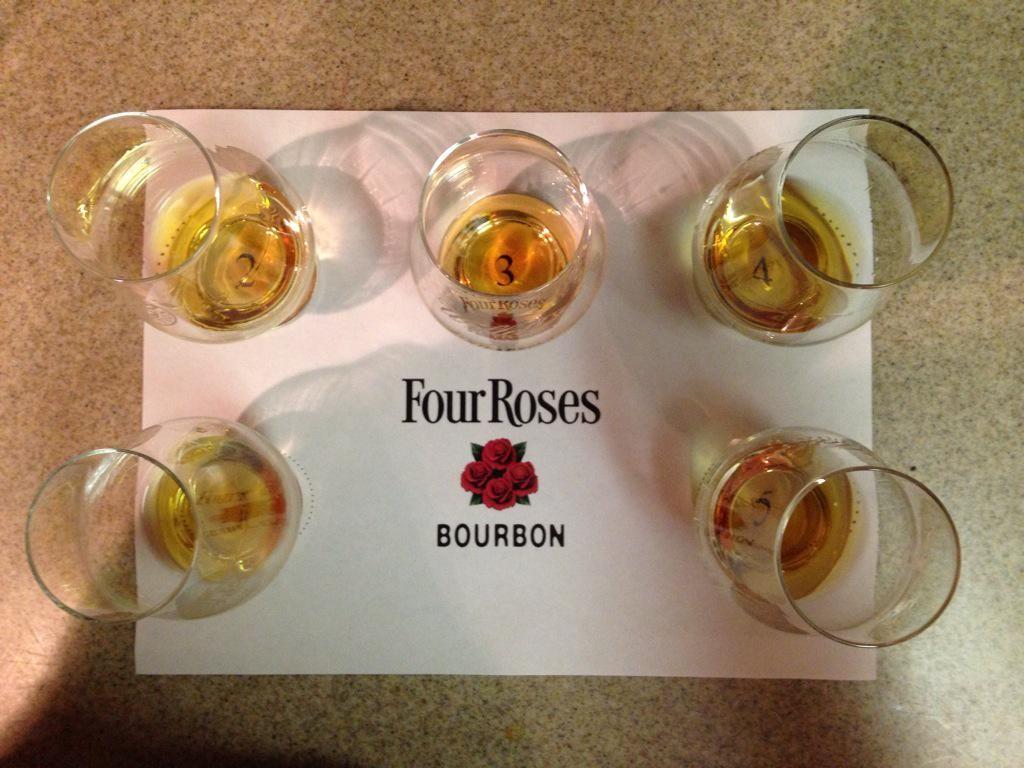 Four Roses E Mash Bill Tasting
