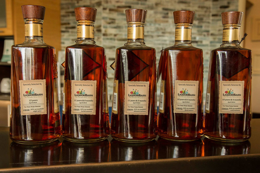 Four Roses Single Barrel Bottles