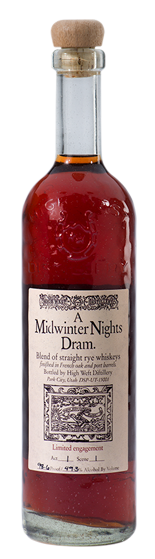High West A Midwinter Nights Dram Bottle