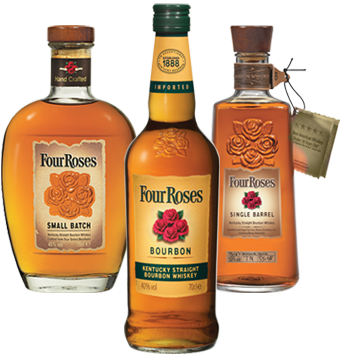 Four Roses Product Lineup