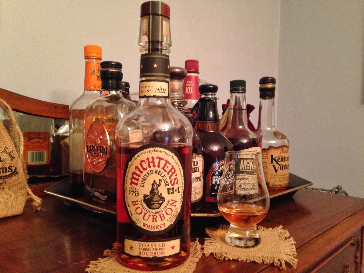 Michter's Toasted Barrel Finish Bourbon Whiskey