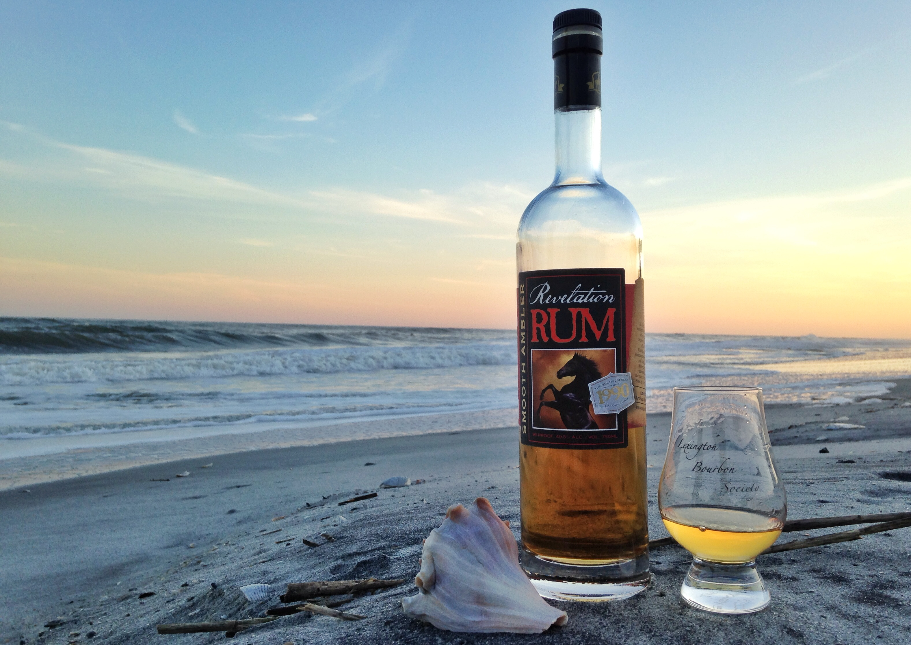 Smooth Ambler Revelation Rum on Folly Beach